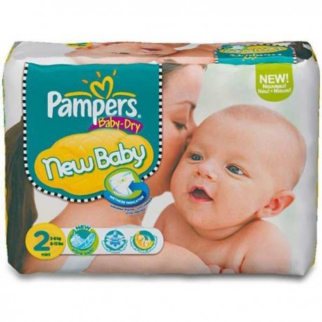 72 couches pampers baby dry taille 2 bas prix sur les couches - Couche pampers baby dry taille 3 ...