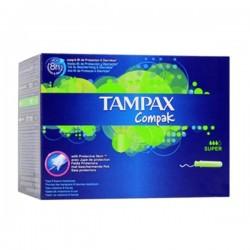 Tampax - 80 Tampons Compak taille SuperavecApplicateur sur Les Couches