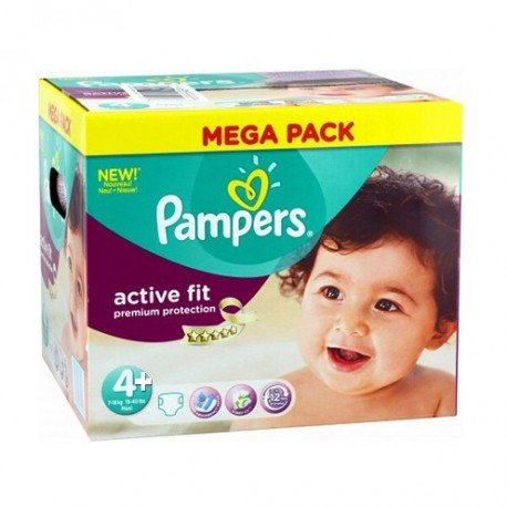 250 couches pampers active fit taille 4 pas cher sur les couches - Couches pampers pas cher taille 4 ...