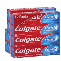 Colgate - 10 Dentifrices Cavity Protection sur Les Couches