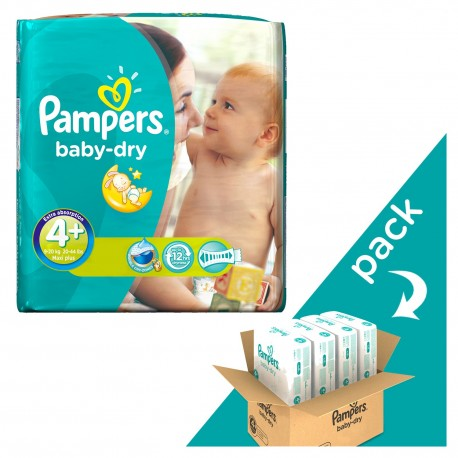 152 Couches Pampers Baby Dry Taille 4 En Solde Sur Les Couches