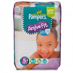 LesCouches Pack 45 couches Pampers Active Fit