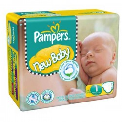 LesCouches Maxi Giga Pack 301 couches Pampers New Baby Dry