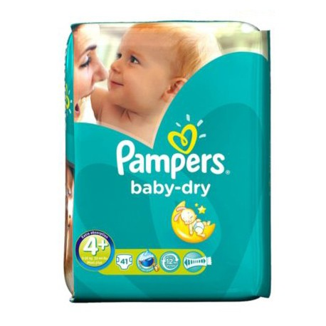 41 couches pampers baby dry taille 4 en promotion sur les couches - Couche pampers baby dry taille 3 ...