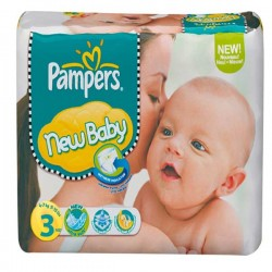 LesCouches Maxi Giga Pack 296 Couches Pampers New Baby