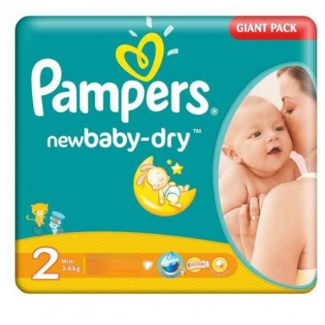 Couches pampers new baby dry taille 2 en promotion sur les couches - Couches pampers taille 3 ...