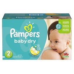 Pampers - 396 Couches Baby Dry taille 2