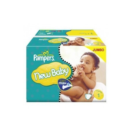 324 couches pampers new baby dry taille 1 moins cher sur - Couche pampers new baby taille pas cher ...