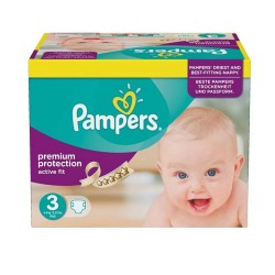Pampers - 123 Couches Active Fit taille 3
