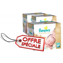 Pampers - 506 Couches Premium Care taille 1 sur Les Couches