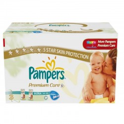 Pampers - 336 Couches Premium Care Pants taille 3 sur Les Couches