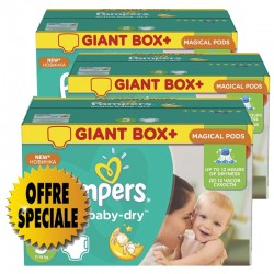 Pampers - 522 Couches Active Baby Dry taille 5