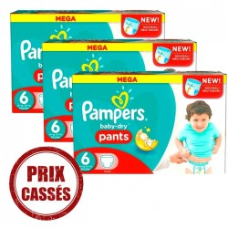 Pampers - 105 Couches Baby Dry Pants 6