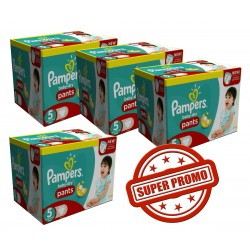 Pampers - 114 Couches Baby Dry Pants 6