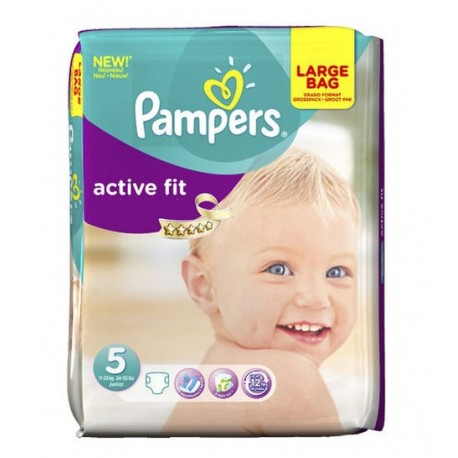 20 couches pampers active fit taille 5 en solde sur les couches - Couches pampers active fit taille 5 ...