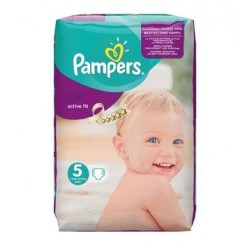 Pampers - 92 Couches Active Fit taille 5