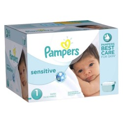 Pampers - Maxi Pack 315 Couches New Baby Sensitive taille 1 sur Les Couches