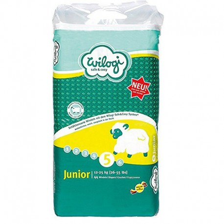 Wilogi - Pack Baby Dry taille 5 sur Les Couches