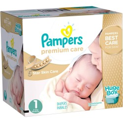Pampers - Giga pack 164 Couches Premium Care taille 1