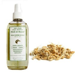 Huile de beauté aux germes de blé 100% pure végétales sur Les Couches