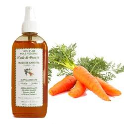 Huile de beauté à la Carotte 100% pure végétales sur Les Couches