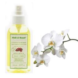 Huile de beauté à l'extrait d'orchidée 100% pur et végétal sur Les Couches