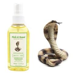 Huile de beauté de Serpent Naga 100% Naturelle sur Les Couches