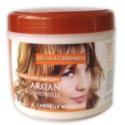Masque capillaire à l'argan & camomille cheveux normaux sur Les Couches
