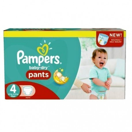 94 Couches Pampers Baby Dry Pants Taille 4 Moins Cher Sur Les Couches