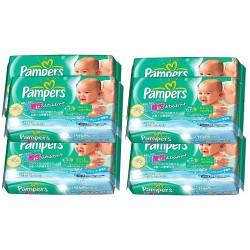 Pampers - Mega pack 378 Lingettes Bébés Fresh Clean - Made in Japan sur Les Couches