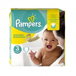 Pampers - Pack 80 Couches Premium Protection - New Baby taille 3