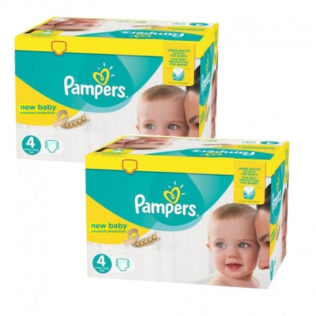 336 couches pampers premium protection taille 4 en solde. Black Bedroom Furniture Sets. Home Design Ideas