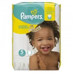 Pampers - Pack 68 Couches Premium Protection - New Baby taille 5