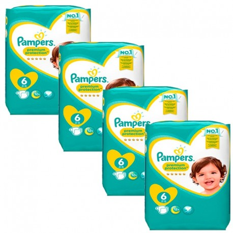 Pampers - Giga Pack 96 Couches Premium Protection - New Baby taille 6 sur Les Couches