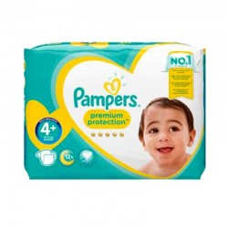 Pampers - Pack 62 Couches Premium Protection - New Baby taille 4+ sur Les Couches
