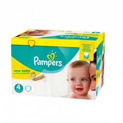 Pampers - Pack 64 Couches New Baby - Premium Protection taille 4 sur Les Couches