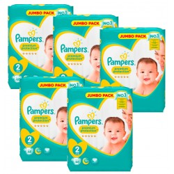 Pampers - Maxi Pack 340 Couches New Baby - Premium Protection taille 2