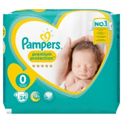 Pampers - Pack 24 Couches New Baby taille 0