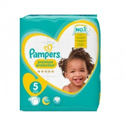 Pampers - Pack 60 Couches New Baby taille 5 sur Les Couches