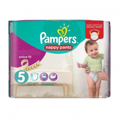 Pampers - Pack 30 Couches Active Fit Pants taille 5 sur Les Couches