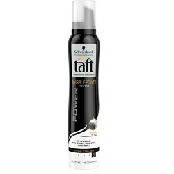 Taft Mousse 200 ml Invisible Power Mega Strong N°5 sur Les Couches