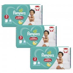 Pampers - Maxi Pack 240 Couches Baby Dry Pants taille 3