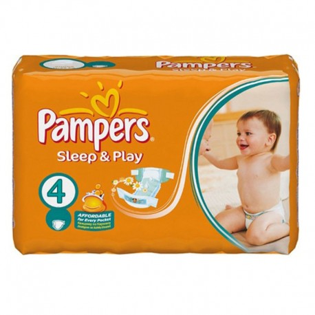 Pampers - Pack 36 Couches Sleep & Play taille 4 sur Les Couches
