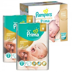 Pampers - Maxi Pack 242 Couches Premium Care - Prima taille 2
