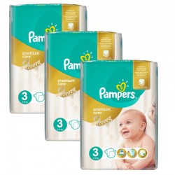 Pampers - Maxi Giga Pack 180 Couches Premium Care - Prima taille 3 sur Les Couches