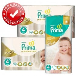 Pampers - Maxi Giga Pack 560 Couches Premium Care - Prima taille 4 sur Les Couches