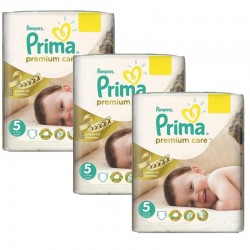 Pampers - Maxi Giga Pack 378 Couches Premium Care - Prima taille 5 sur Les Couches