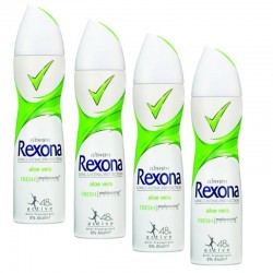 Rexona - Lot 4 Deodorants Motion Sense Aloe Vera sur Les Couches