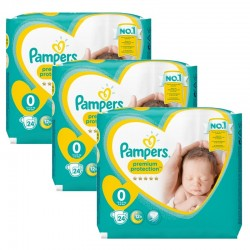 Pampers - Maxi Giga Pack 72 Couches New Baby taille 0