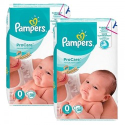 Giga Pack 76 Couches Pampers ProCare Premium protection sur Les Couches